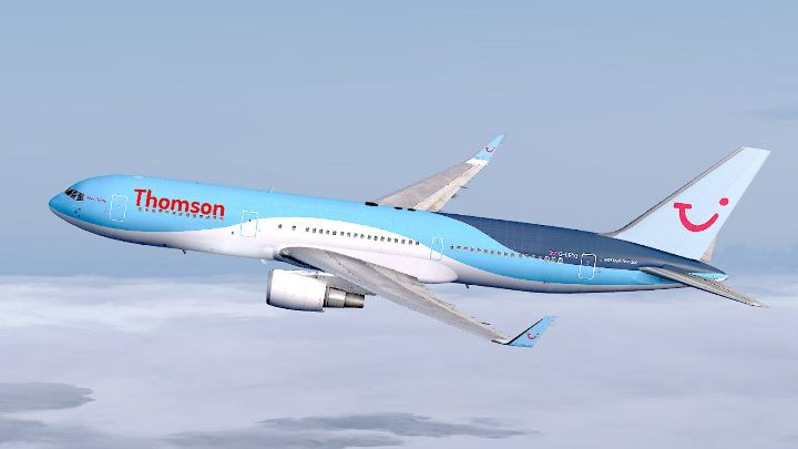 Резервация на самолетен билет на THOMSON AIRWAYS