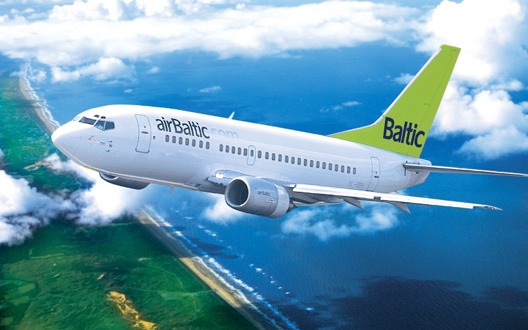 Резервация на самолетен билет на авиокомпания AIR BALTIC